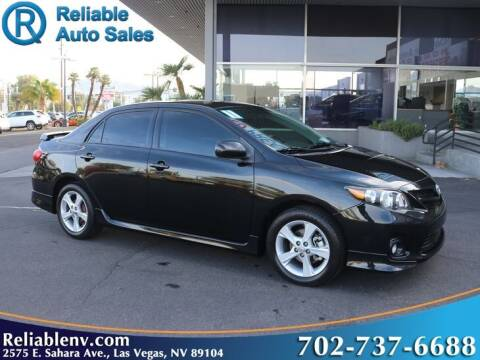 2011 Toyota Corolla for sale at Reliable Auto Sales in Las Vegas NV