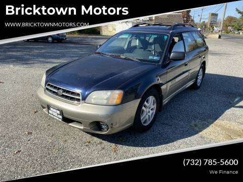 2001 Subaru Outback for sale at Bricktown Motors in Brick NJ