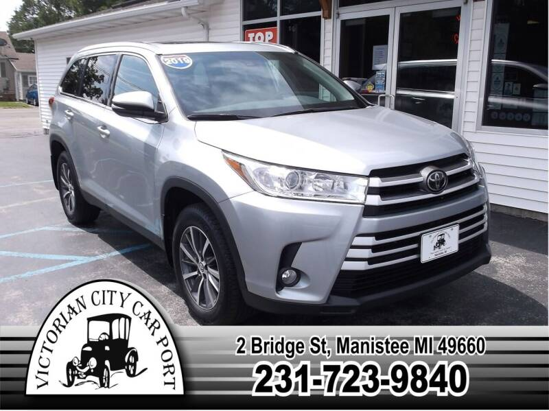 2019 Toyota Highlander for sale at Victorian City Car Port INC in Manistee MI