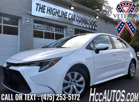 2020 Toyota Corolla for sale at The Highline Car Connection in Waterbury CT
