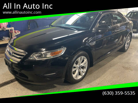 2012 Ford Taurus for sale at All In Auto Inc in Addison IL