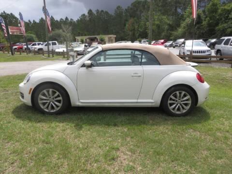 2014 Volkswagen Beetle Convertible for sale at Ward's Motorsports in Pensacola FL