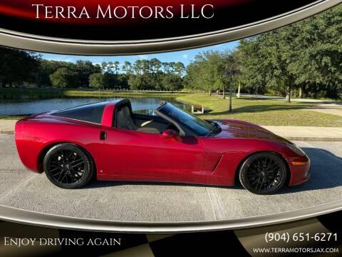 2008 Chevrolet Corvette for sale at Terra Motors LLC in Jacksonville FL