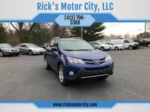 2014 Toyota RAV4 for sale at Rick's Motor City, LLC in Springfield MA