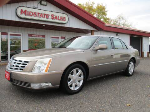 2006 Cadillac DTS for sale at Midstate Sales in Foley MN
