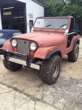 1978 Jeep CJ-5 for sale at Haggle Me Classics in Hobart IN