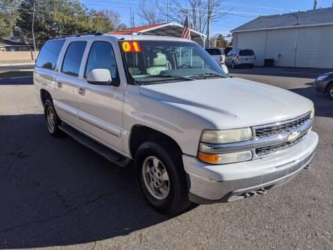2001 Chevrolet Suburban for sale at Progressive Auto Sales in Twin Falls ID
