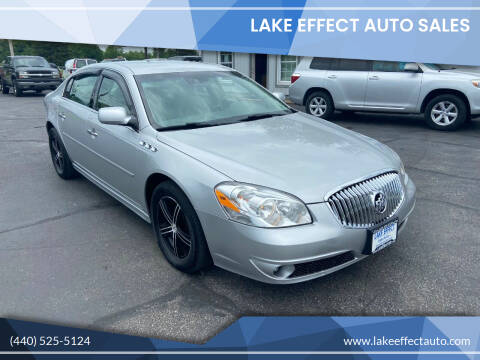 2011 Buick Lucerne for sale at Lake Effect Auto Sales in Chardon OH