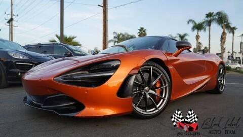 2018 McLaren 720S for sale at BLACK LABEL AUTO FIRM in Riverside CA