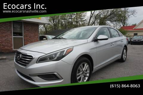 2017 Hyundai Sonata for sale at Ecocars Inc. in Nashville TN
