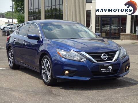 2016 Nissan Altima for sale at RAVMOTORS 2 in Crystal MN
