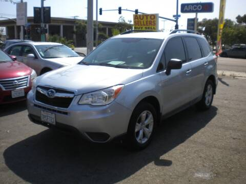 2016 Subaru Forester for sale at AUTO SELLERS INC in San Diego CA