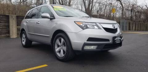 2012 Acura MDX for sale at U.S. Auto Group in Chicago IL