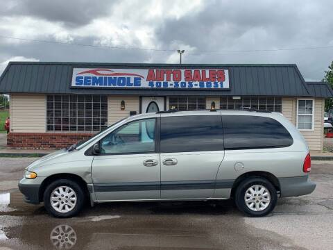 1999 Dodge Grand Caravan for sale at Seminole Auto Sales in Seminole OK