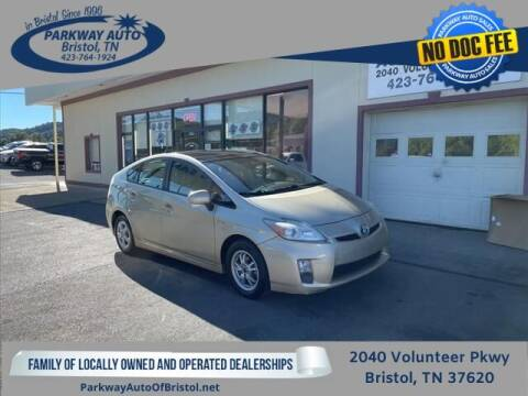 2010 Toyota Prius for sale at PARKWAY AUTO SALES OF BRISTOL in Bristol TN