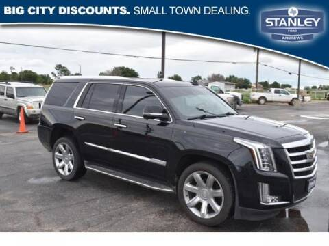 2016 Cadillac Escalade for sale at STANLEY FORD ANDREWS in Andrews TX