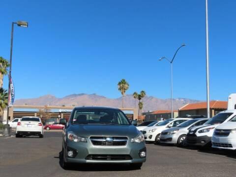 2014 Subaru Impreza for sale at Jay Auto Sales in Tucson AZ