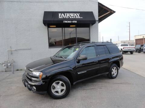 2004 Chevrolet TrailBlazer for sale at FAIRWAY AUTO SALES, INC. in Melrose Park IL