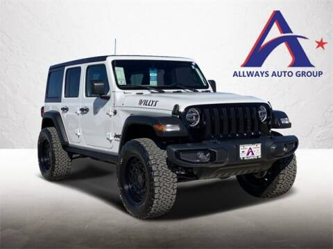 2021 Jeep Wrangler Unlimited for sale at ATASCOSA CHRYSLER DODGE JEEP RAM in Pleasanton TX