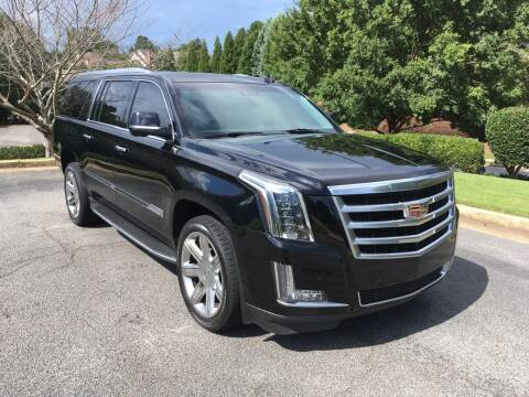 2017 Cadillac Escalade ESV for sale at Legacy Motor Sales in Norcross GA
