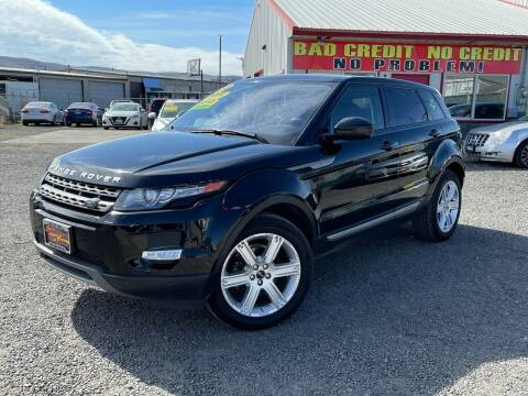 2015 Land Rover Range Rover Evoque for sale at Yaktown Motors in Union Gap WA