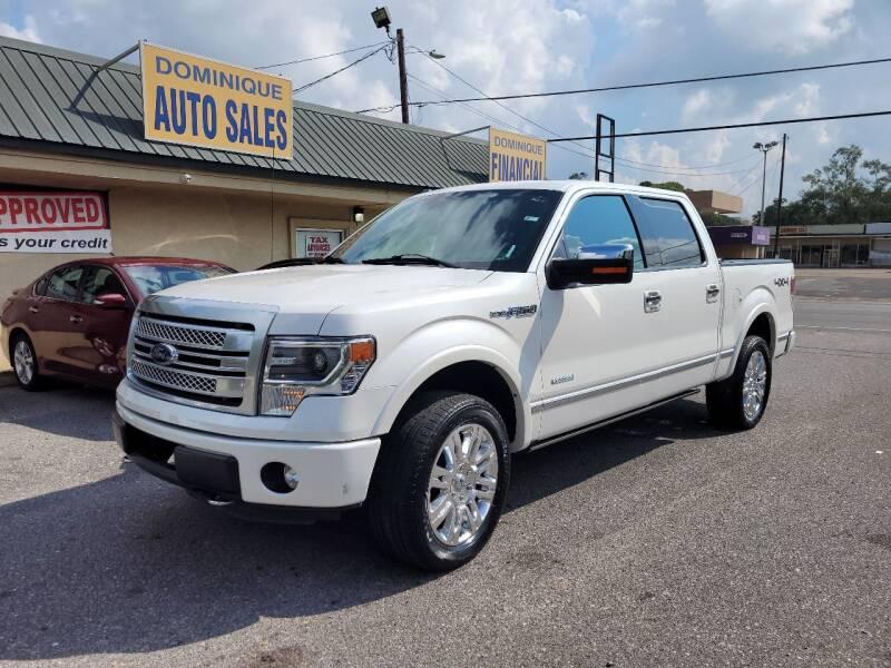 2013 Ford F-150 for sale at Dominique Auto Sales in Opelousas LA