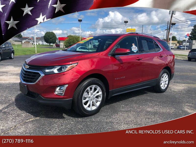 2018 Chevrolet Equinox for sale at Ancil Reynolds Used Cars Inc. in Campbellsville KY