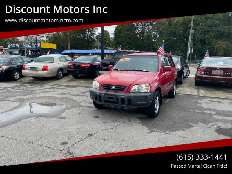 2001 Honda CR-V for sale at Discount Motors Inc in Nashville TN