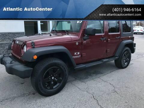 2009 Jeep Wrangler Unlimited for sale at Atlantic AutoCenter in Cranston RI