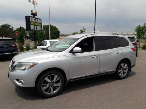 2013 Nissan Pathfinder for sale at More-Skinny Used Cars in Pueblo CO