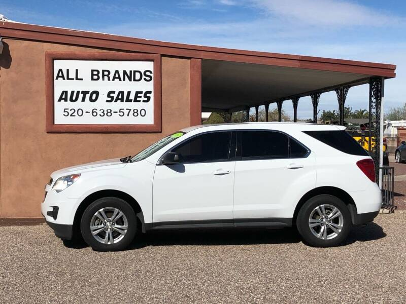 2014 Chevrolet Equinox for sale at All Brands Auto Sales in Tucson AZ