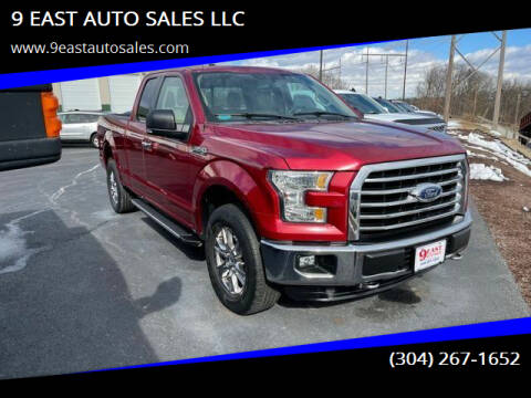 2015 Ford F-150 for sale at 9 EAST AUTO SALES LLC in Martinsburg WV