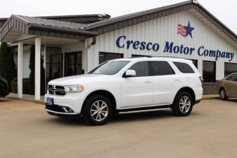 2014 Dodge Durango for sale at Cresco Motor Company in Cresco IA