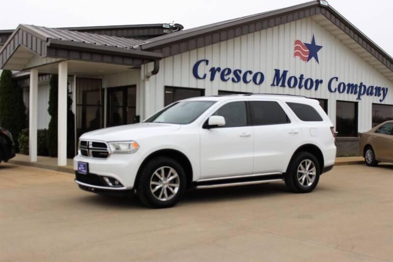 2014 Dodge Durango for sale at Cresco Motor Company in Cresco IA