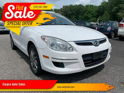 2012 Hyundai Elantra Touring for sale at Carpro Auto Sales in Chesapeake VA