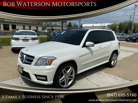 2012 Mercedes-Benz GLK for sale at Bob Waterson Motorsports in South Elgin IL