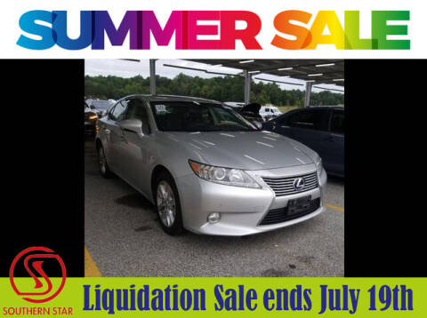 2013 Lexus ES 300h for sale at Southern Star Automotive, Inc. in Duluth GA