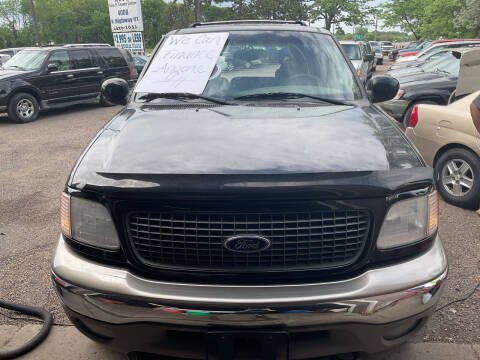 2001 Ford Expedition for sale at Continental Auto Sales in White Bear Lake MN