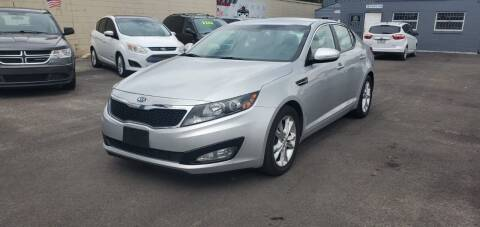 2012 Kia Optima for sale at Real Car Sales in Orlando FL