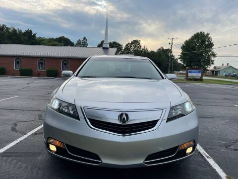 2013 Acura TL for sale at SHAN MOTORS, INC. in Thomasville NC
