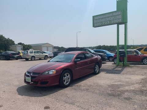 2003 Dodge Stratus for sale at Independent Auto in Belle Fourche SD