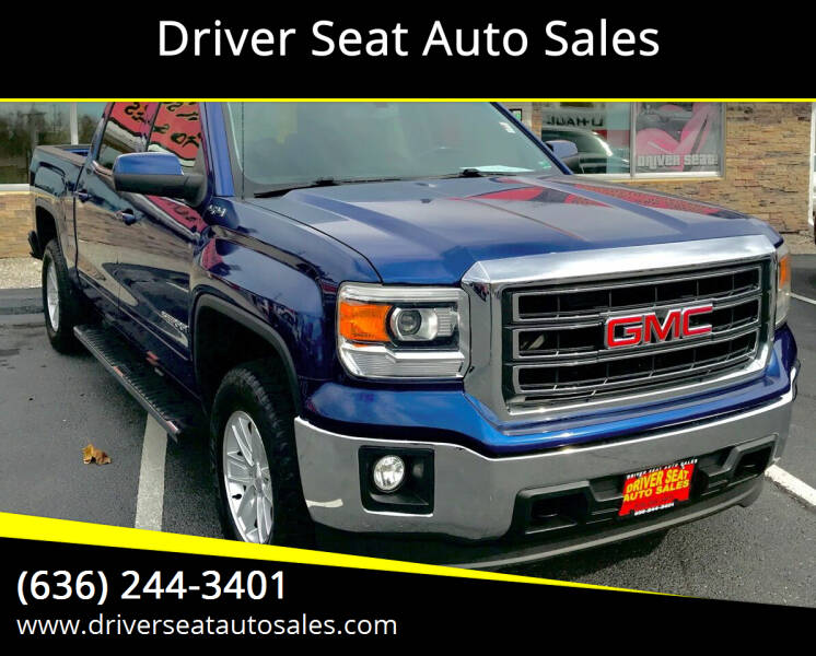 2014 GMC Sierra 1500 for sale at Driver Seat Auto Sales in St. Charles MO