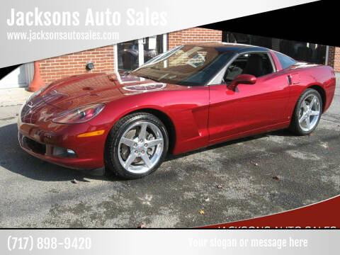 2006 Chevrolet Corvette for sale at Jacksons Auto Sales in Landisville PA