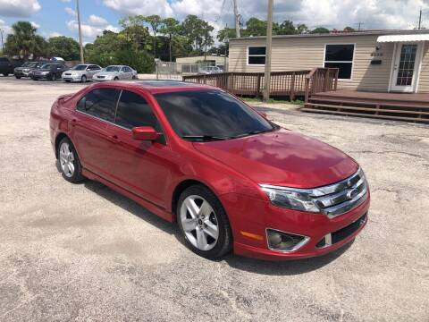 2010 Ford Fusion for sale at Friendly Finance Auto Sales in Port Richey FL