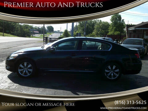 2008 Lexus GS 350 for sale at Premier Auto And Trucks in Independence MO