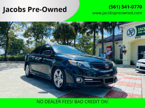 2014 Toyota Camry for sale at Jacobs Pre-Owned in Lake Worth FL