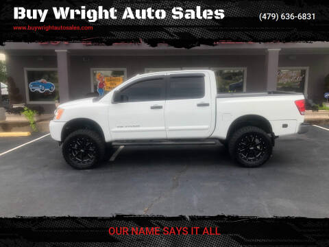 2014 Nissan Titan for sale at Buy Wright Auto Sales in Rogers AR