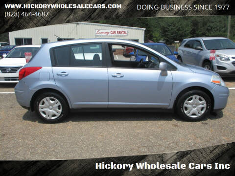 2011 Nissan Versa for sale at Hickory Wholesale Cars Inc in Newton NC