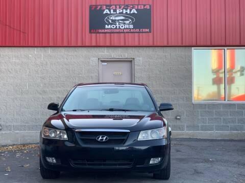 2006 Hyundai Sonata for sale at Alpha Motors in Chicago IL