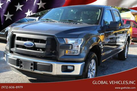 2016 Ford F-150 for sale at Global Vehicles,Inc in Irving TX